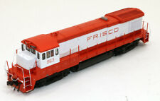 Atlas Silver GE B30-7 Diesel Locomotive Frisco 863 Upgraded to DCC HO Scale