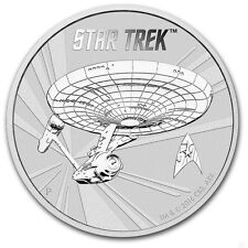 TUVALU 1 Dollar Argent 1 Once Star Trek  2016 - 1 Oz silver coin
