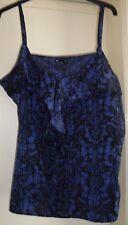 Ladies GAP Blue Strappy Top Size XL - BNWT
