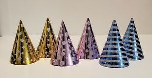 PETS/KIDS Mini-Sized Party Hats/Birthday Parties/Holidays  6pc
