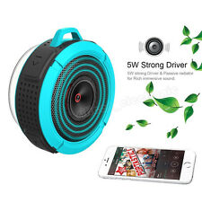 Hot Waterproof Wireless Bluetooth Speaker Suction W/Mic For iPhone 6 6s 5S 5C 5