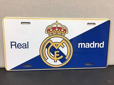 FC Real Madrid License Plate Design