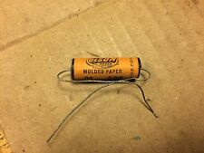 NOS Vintage Olson .01 uf 600v Molded Paper Capacitor Guitar Tone Cap (Qty Avail)