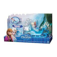 Disney Frozen Swirling Snow Sled Gift Set Elsa & Anna Playset New