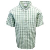 Columbia Men's Grey Green Rapid Rivers II S/S Shirt (Retail $45.00)