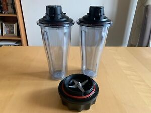 Vitamix 0.6L Blending Cups & Blade unit for use with Ascent range Brand New