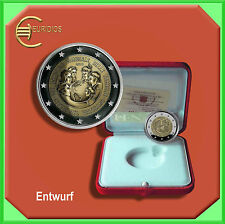 "2 Euro € Gedenkmünze Coins Vatikan 2015 ""Weltfamilientreffen"" PP, in Schatulle"