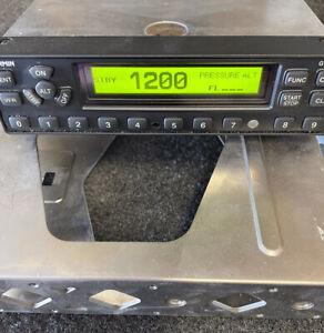 garmin gtx 327 transponder with tray, connectors, and encoder
