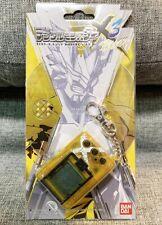 NEW DEGITALMONSTER X Ver.3 Yellow Digimon Digivice Premium BANDAI Video game