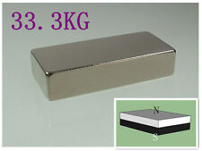 N52 45*20*10mm Neodymium Permanent super strong Magnets rare earth Craft blaock
