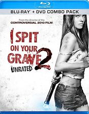 I SPIT ON YOUR GRAVE 2 - BLU-RAY/DVD COMBO PACK - NEW UNOPENED