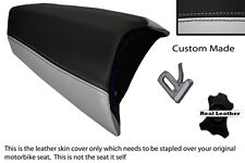 BLACK & LIGHT GREY CUSTOM FITS PEUGEOT JETFORCE 50 125 REAR SEAT COVER