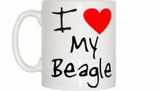 I Love Heart My Beagle Mug