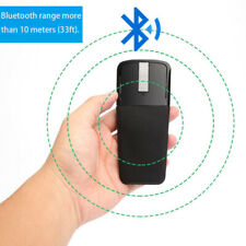 Bluetooth Foldable 3D Arc Wireless Mouse Mice For Window Surface PC Laptop Tool