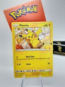 McDonalds 25th Anniversary 2021 POKEMON Cards Complete your set HOLO & COMMON