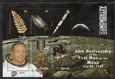 Tuvalu MNH 2009 The 40th Anniversary ofthe First Man on the Moon M/S