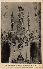 CPA  Sion - Notre-Dame de Sion - par Praye - Statue miraculeuse  (484178)
