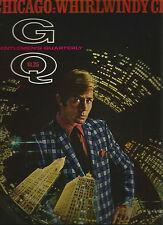 Gentlemen's Quarterly March 1969 Chicago-Frank Lloyd Wright-Mies van der Rohe