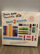 Back 2 School Essentials Pens Pencils Sharpie Expo Paper Mate Elmer's, 37 Count