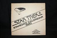 1980 Star Trek the Motion Picture Stardate Calendar -MIB