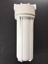 """10"""" Water Filter Housing 1/4"""" Ports for Reverse Osmosis Systems / Aquarium / All"""