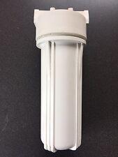 """Alloggiamento Filtro Acqua 10"""" 1/4"""" porte per sistemi di osmosi inversa/Acquario/TUTTI"""