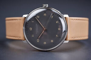 Junghans Max Bill (027/3401.04) 38mm dress watch - anthracite-grey