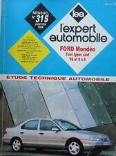 Revue technique FORD MONDEO tous types sauf V6 et 4X4 EXPERT N° 315 1994
