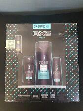Axe Apollo 3+ Bonus Gift Pack Anti-Perspirant Body Wash Deodorant Spray