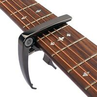 Guitar Tuner Capo Quick Change Clamp Key for Acoustic Electric Guitar Mandolin