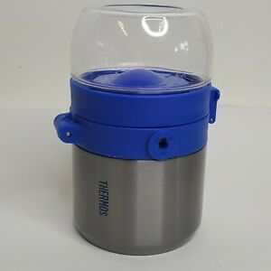 Thermal Insulated Stainless Steel Thermos Hot Food Soup Lunch Container w/ Spoon