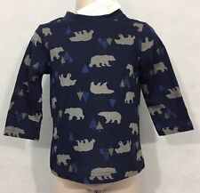 New/Tags 18 Month First Impression Baby Boy's 100% Cotton Polar Bear LS T-Shirt