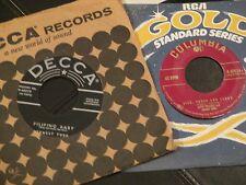 Lefty Frizzell & Tubb Sick Sober & Désolé COUNTRY ROCKABILLY BOPPER 45 RPM R26