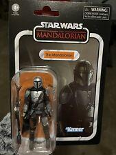 """New Star Wars The Vintage Collection The Mandalorian Full Beskar 3.75"""" Boba Fett"""
