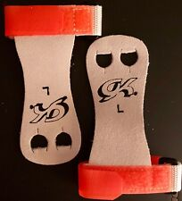 Was $15.99 Nwt! Gk Elite Sportswear Hand Grips With Strap #Gk32 Orange Size L