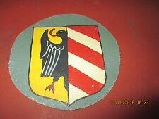 WWII LUFTWAFFE SHIELD  1/JG 54  FIGHTER SQDN  FLIGHT JACKET PATCH