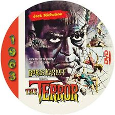 "The Terror (1963) Sci-Fi and Horror ""B"" NR CULT Movie DVD"