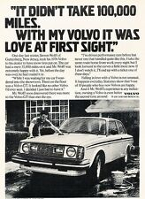 1976 1979 Volvo 242GT Original Advertisement Print Car Ad J530
