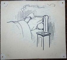 GINO BALDO (1884-1961) DESSIN de PRESSE ORIGINAL PARU 1915 BICARD dit le BOUIF 6