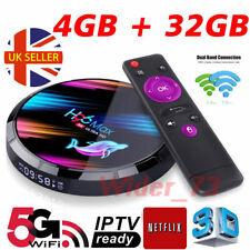 2020 H96 MAX X3 4GB+32GB Android 9.0 TV Box Smart Amlogic S905X3 Dual WIFI BT UK