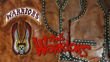 The Warriors Movie Leather Vest (Premium Lambskin Distressed Vintage Leather)