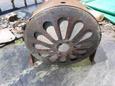 Vintage round metal school factory industrial MCM Speaker RCA MI 12454 daisey