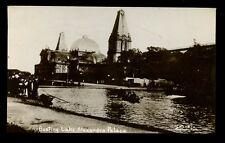 LONDON Alexandra Palace Boating Lake early RP PPC