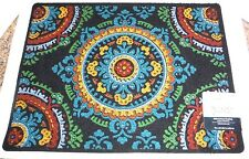 "New 18"" x 24"" Skid Resistant Indoor/Outdoor Medallion Floor Utility Mat Doormat"