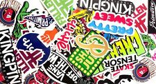 Assorted Skateboard Brands 5 Pack Stickers Assorted Skate decal