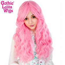 Gothic Lolita Wigs® Classic Wavy Lolita Collection™ - Deep Pink