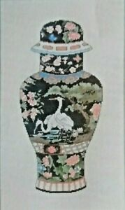 "Dimensions Cross Stitch Instructions 3692 ""Ginger Jar""  8"" x 14"""