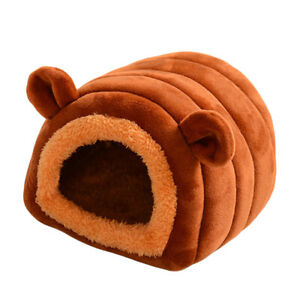 Rabbit Guinea Pig Cage Small Animal House Warm Nest Hamster Sleeping Bed AU