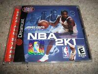 Sega Sports NBA 2K1 - Sega Dreamcast (NTSC/U) NEW & SEALED (US) Rare