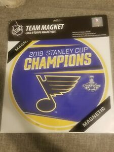 2019 Saint Louis Blues Stanley Cup Champions Team Magnet